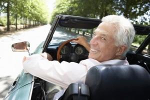 נהיגה בגיל המבוגר
